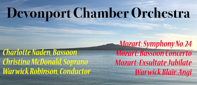 Devonport Chamber Orchestra - Mozart Magic