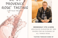Image for event: NZ vs Provence Rose with David Clouston