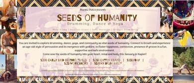 Seeds of Humanity: Drumming, Dance & Yoga
