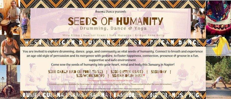 Seeds of Humanity: Drumming, Dance & Yoga