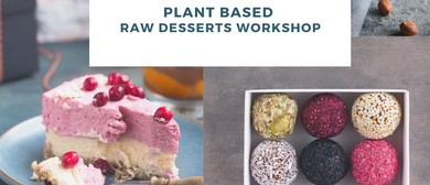 Plant Based Raw Desserts Workshop