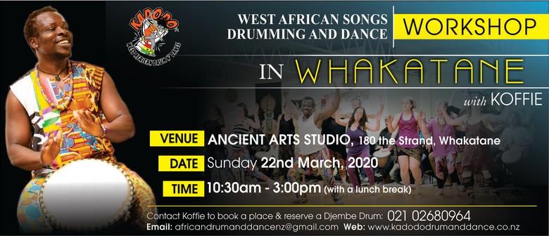 West African Drumming and Dance Workshop - Whakatane