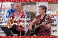 Image for event: Christmas Carols With the Lyrical Librarians