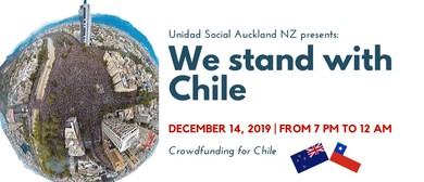 Fundraising Cultural Family Event for Chile