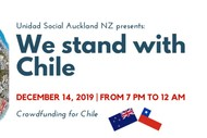 Image for event: Fundraising Cultural Family Event for Chile