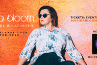 Image for event: Marina Bloom 'Back Where We Started' Album Release Tour