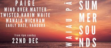 Waiau Pa Summer Sounds