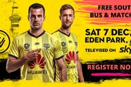 Image for event: Wellington Phoenix Game vs Western Sydney Wanderers