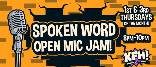 Spoken Word Open Mic Jam