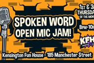 Image for event: Spoken Word Open Mic Jam