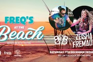 Image for event: Freqs At the Beach With Benny Boy & Zeisha