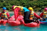 Image for event: Peel Forest Outdoors Center - Lake Opuha Kayak Adventure