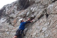 Image for event: Peel Forest Outdoors - Rock Climbing/abseiling at Spur Road