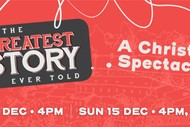 Image for event: The Greatest Story Ever Told - A Christmas Spectacular