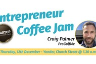 Image for event: Entrepreneur Coffee Jam featuring ProGolfMe