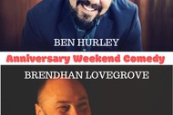 Image for event: Anniversary Weekend Comedy