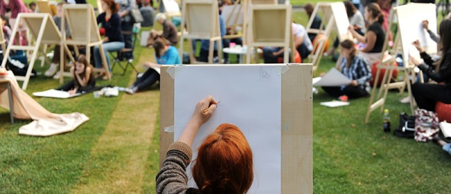 Paintvine In the Park - Social Painting