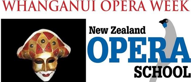 Great Opera Moments - Whanganui Opera Week