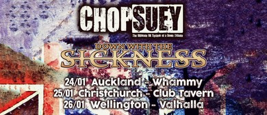 Chop Suey - NZ Tour - Christchurch