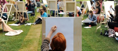 Paintvine In the Park - Social Painting in Hagley Park