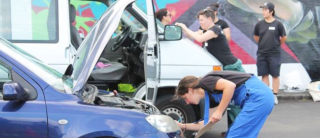Studio One Toi Tū - DIY Car Maintenance Workshop for Women