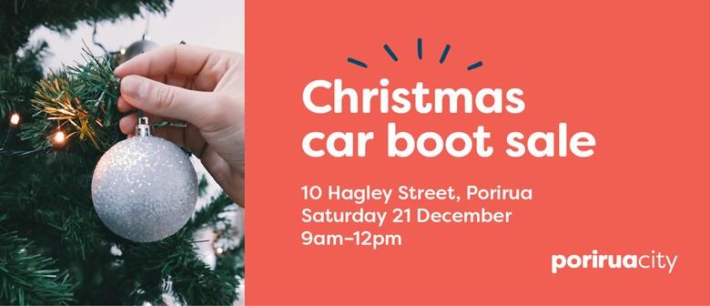 Christmas Car Boot Sale