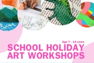 School Holiday Art Workshops for Kids & Teens