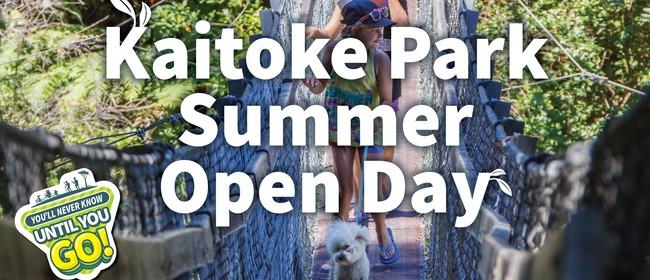 Kaitoke Park Summer Open Day