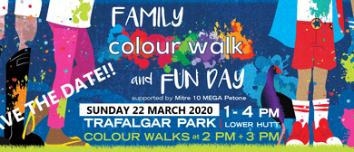 Hutt City Kindergartens Family Colour Walk and Fun <em>Day</em>