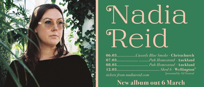 Nadia Reid - Out Of My Province 2020 NZ Tour