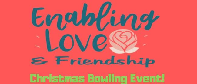 Enabling Love Christmas Bowling Event