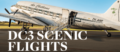 Air Chathams DC3 Scenic Flights (Sunshine and a Plate)