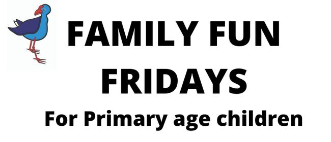 Family Fun Fridays Summer Fun