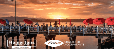 Sunset on the Wharf with Focus Accountants & Hamertons