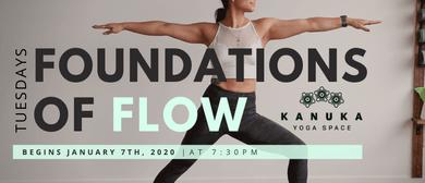 Foundations of Flow 2020 - Five Week Series