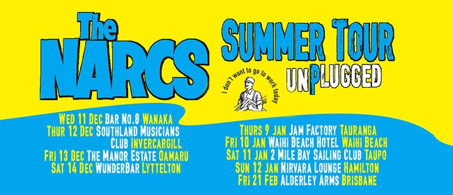 The Narcs Unplugged - Summer Tour: CANCELLED