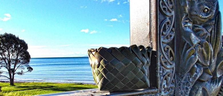 Make a Flax Basket - Kono