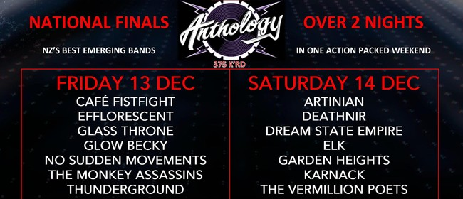 Battle of the Bands 2019 National Championship - NZ Final 2
