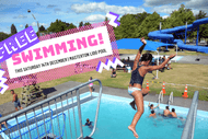 Image for event: Swimming - Masterton Lido Pool