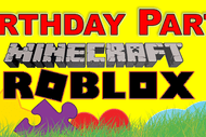 Minecraft & Roblox Birthday Party or Gaming Class
