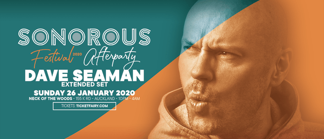 Sonorous Festival 2020: After Party - Dave Seaman