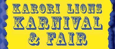 Karori Lions Karnival and Fair 2020