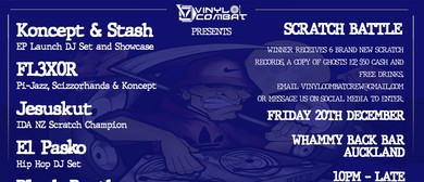 Vinyl Combat Presents Ghosts EP Launch (NZ) & Scratch Battle