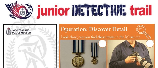 Junior Detective Trail: CANCELLED