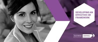 Developing an Effective HR Framework – Business Central