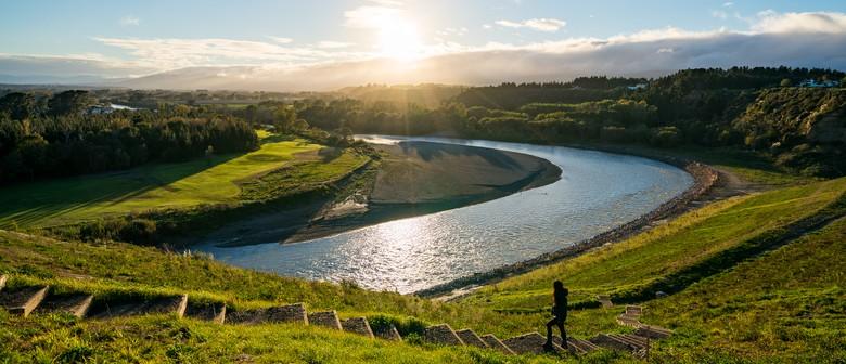 River, Native Bush and Views with Manawatu Striders