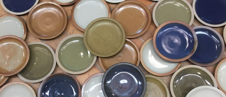 One Hundred Plates - Ceramics Exhibition by Paul Melser
