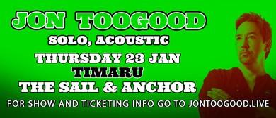 Jon Toogood Solo, Acoustic