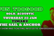 Image for event: Jon Toogood Solo, Acoustic