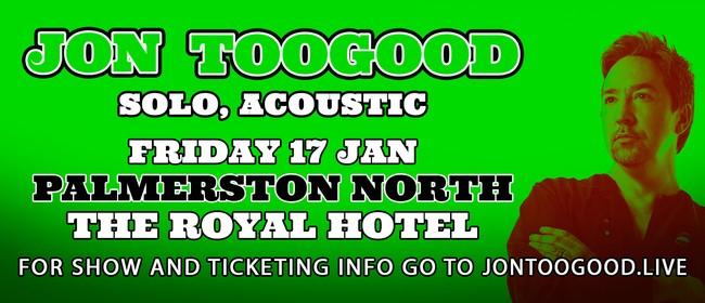 Jon Toogood - Solo, Acoustic